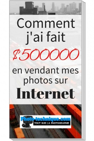$500000 en vendant mes photos sur Internet