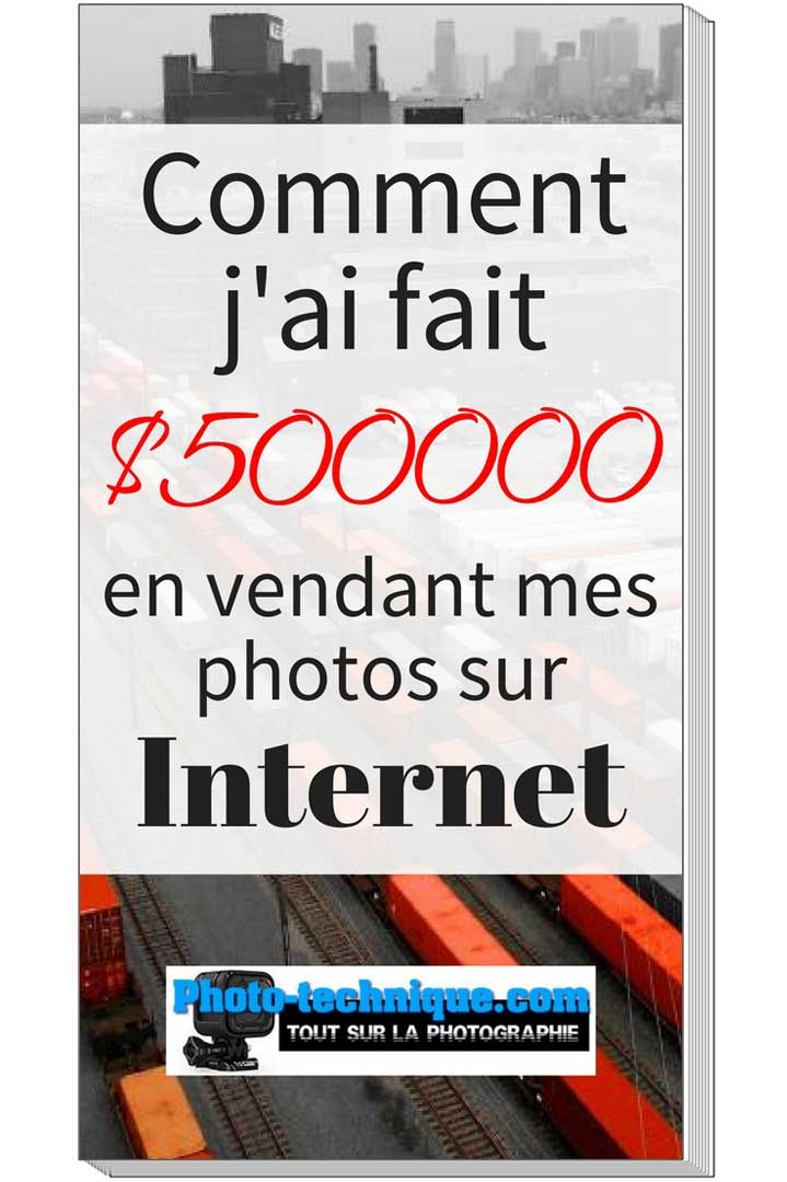 $500000 en vendant mes photos sur Internet