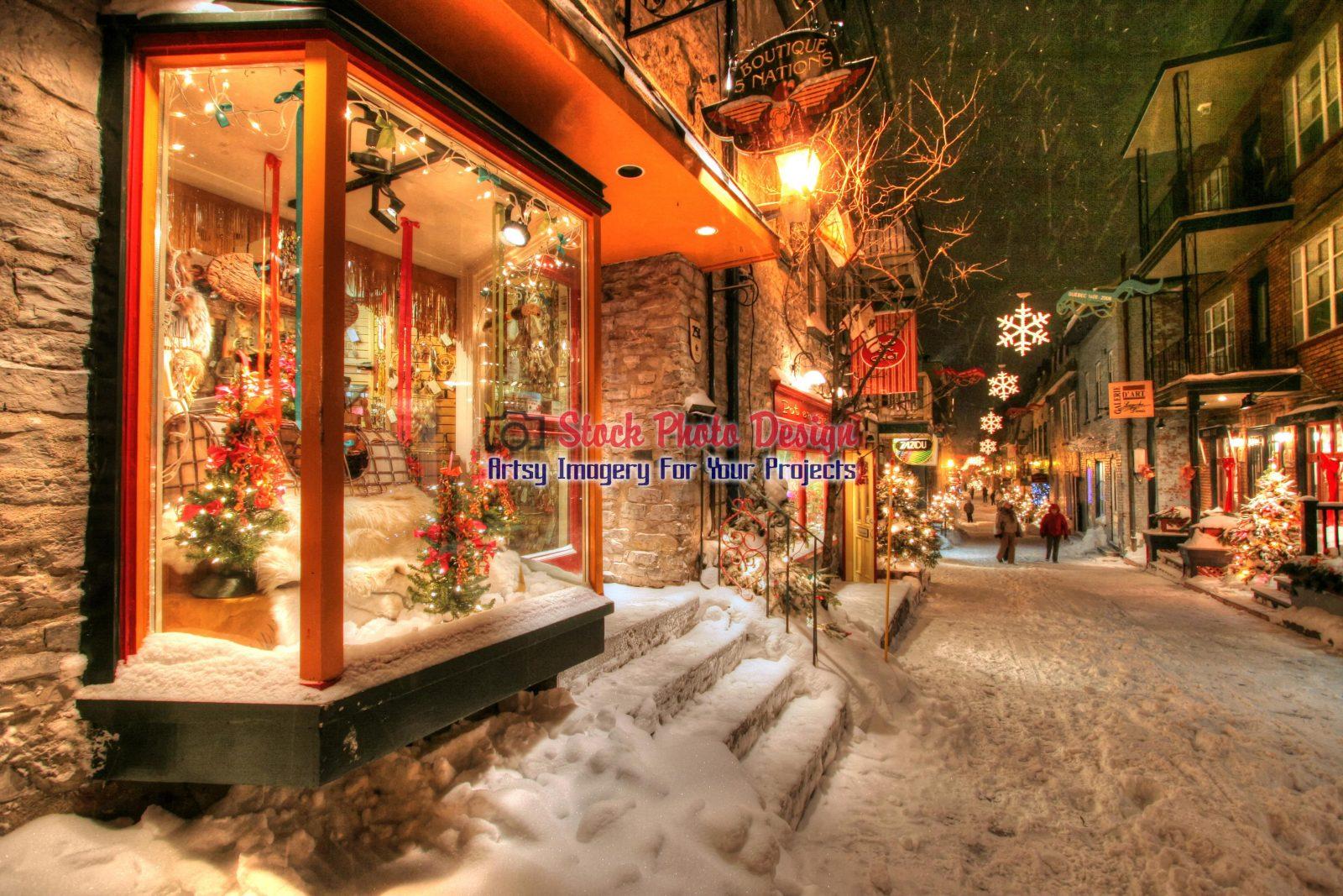 Old-Quebec-City-District-Alley-Image