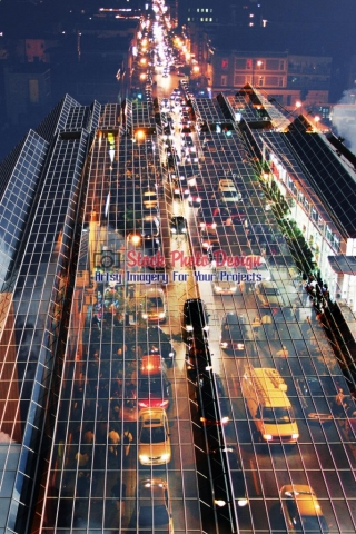 Urban-Traffic-Concept-Photo-Montage-Image
