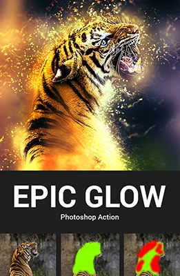 Effet Photoshop Epic Glow