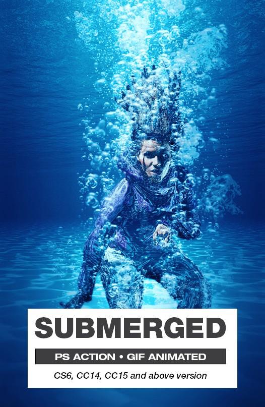 Effet Photoshop Submerged