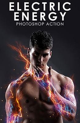 Effet Photoshop Energie Electrique