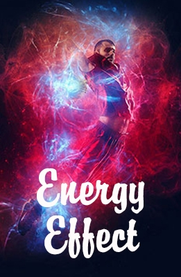 Effet Photoshop Energie
