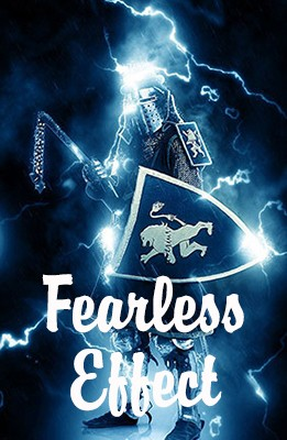 Effet Photoshop Fearless