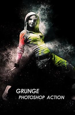 Effet Photoshop Grunge