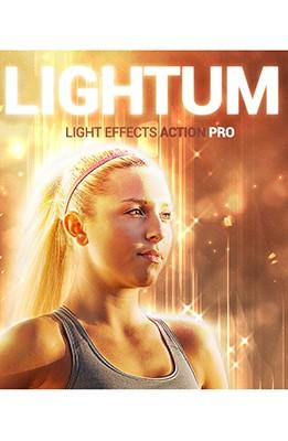 Effet Photoshop Lightum