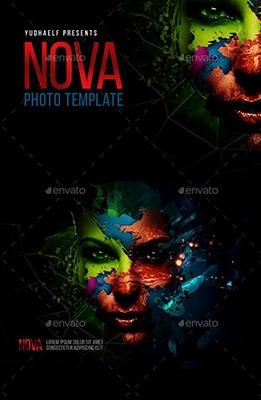 Effet Photoshop Nova Artistic