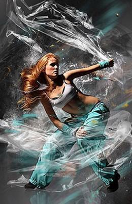 Effet Photoshop Emballage de Plastique