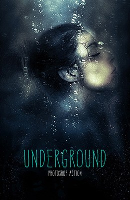 Effet Photoshop Underground