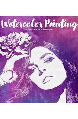 Effet Photoshop Peinture a l'eau