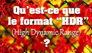 Format HDR